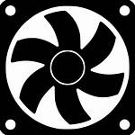 Cooler Computer Fan Icon Air Icons Rotor