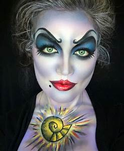 Gruselige Hexe Schminken : fasching karneval gruselig hexe schminken idee airbrush pinterest gruselige hexe hexe ~ Frokenaadalensverden.com Haus und Dekorationen