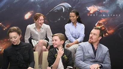 Toby Stephens Lost Space Cast Netflix Goofy