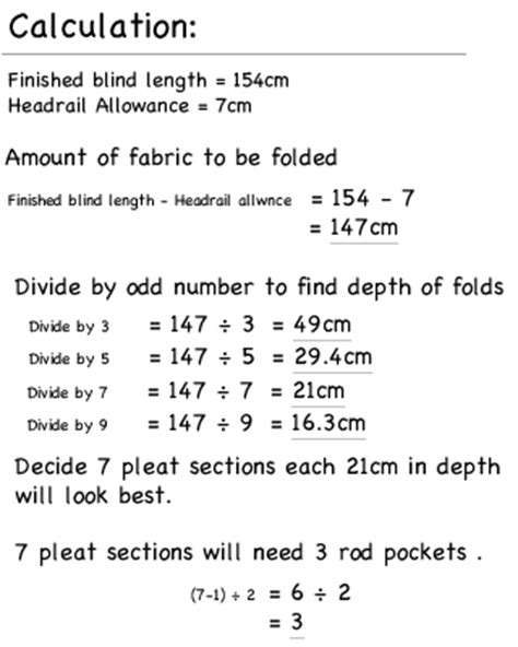 Lined Roman Blind, Calculate Dimensions