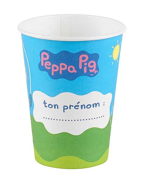 peppa pig piatti e bicchieri 6 bicchieri di carta peppa pig addobbi e vestiti di