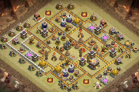 3 th10 layouts with 2 best coc th10 war base anti 3 2018 defense layout 3 th