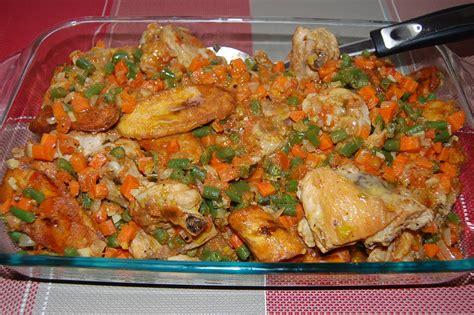 recette de cuisine camerounaise poulet dg directeur général par toimoietcuisine