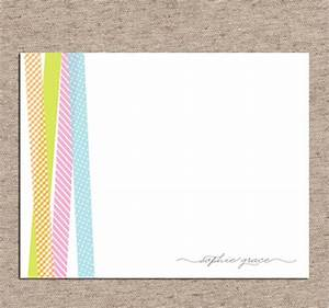 Washi Tape Wedding Invitations