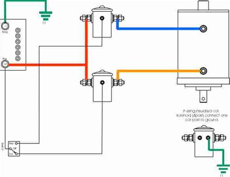 2 Post Winch Motor Wiring Diagram by Hi I Ramsey 8000 To 12000lb Winch That I Bought Second
