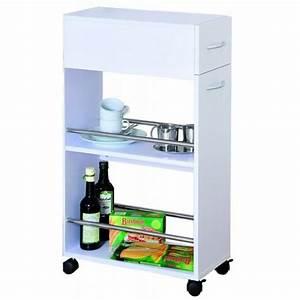 Meuble de rangement pour cuisine a roulettes achat for Deco cuisine pour meuble de rangement