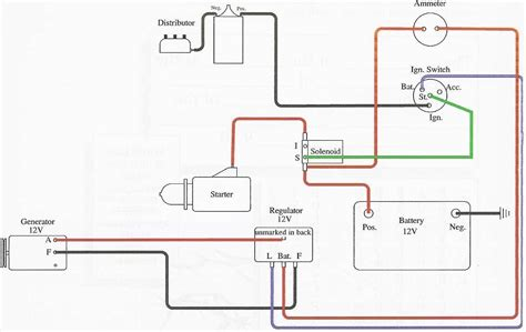 Ford 6 Volt Positive Ground Wiring Diagram by Wiring 6 Volt Ignition Coil Circuit Diagram