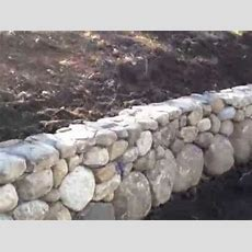 New England Field Stone Wall Youtube