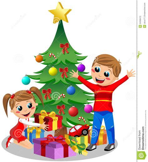 ni 241 os lindos que abren los regalos de la navidad