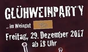 Glühweinparty Im Garten : aktuelles weingut hoch kraft ~ Whattoseeinmadrid.com Haus und Dekorationen