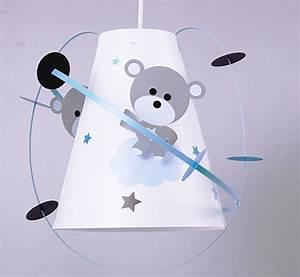 suspension enfant ourson fabrique casse noisette With couleur de peinture bleu 4 luminaire chambre garon suspension enfant