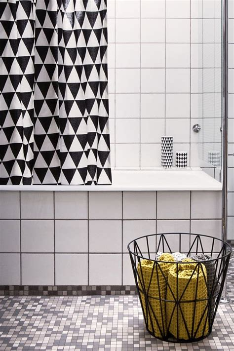 37 black and white mosaic bathroom floor tile ideas and