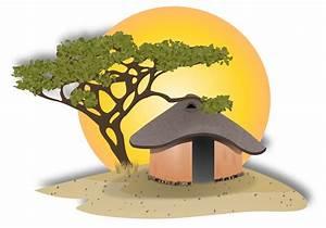 Clipart - African Hut