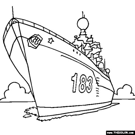 How To Draw Boat With Colour by Free Coloring Pages Thecolor