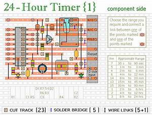 How To Build 24 Hour Timer  Circuit Diagram
