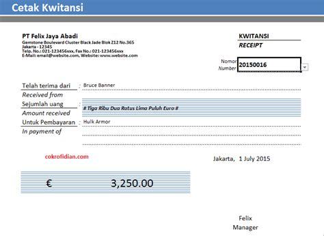 contoh invoice kwitansi mathieu comp sci