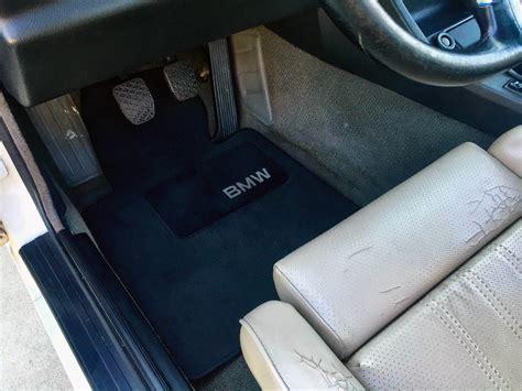 E30 Floor Mats Oem discontinued oem bmw e30 floor mats option bimmertips