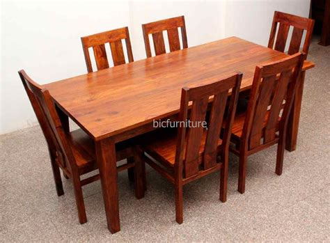dining table set 6 seater large 6 seater wooden dining set in sturdy construction