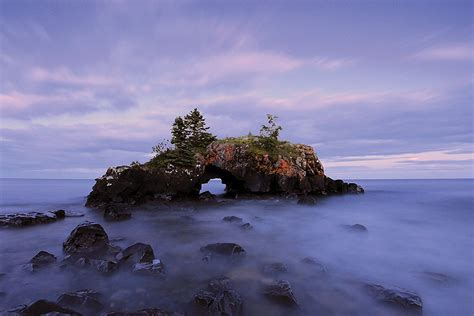 Hollow Rock Island In Minnesota Must Be Seen To Be Believed