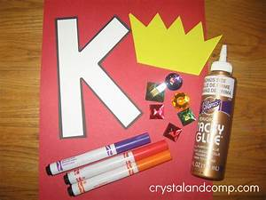 Bohrhammer King Craft : alphabet activities for preschoolers k is for king ~ Michelbontemps.com Haus und Dekorationen