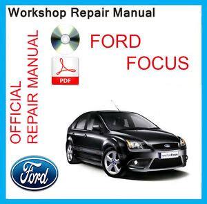 official ford focus mk workshop service manual