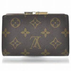 LOUIS VUITTON Monogram French Purse Wallet 30913