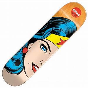 Almost Skateboards Willow Superhero Splitface Skateboard ...