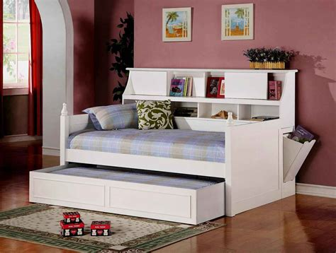 full size trundle bed with storage white size daybed frame with trundle and space saving 20509