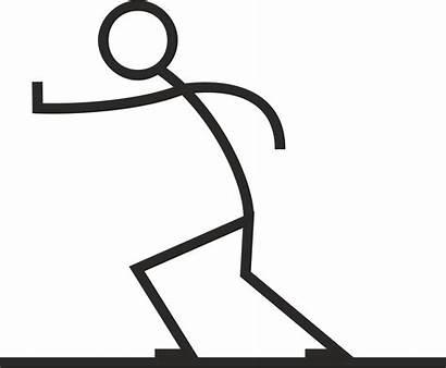 Stick Pushing Figure Push Person Clipart Clip