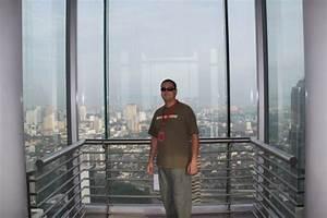 view from Petronas Towers sky bridge
