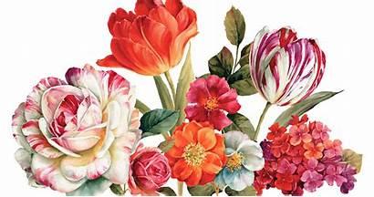 Flower Painting Lisa Audit Decoupage Paintings Clipart