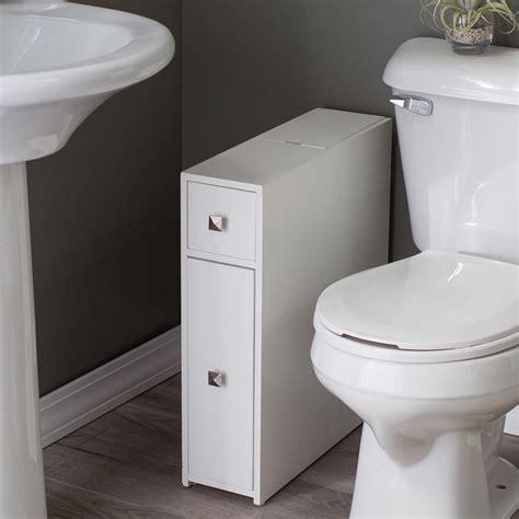 Narrow Bathroom Storage Bathroom Design Ideas