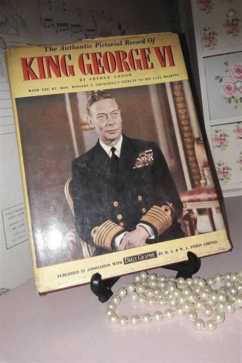 Pictorial record of King George VI vintage book by Arthur ...