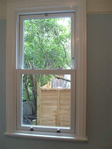 pvc  sash window  timber architraves window board