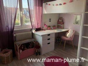 Decoration Licorne Chambre : une petite chambre fille totalement girly et licorne le blog de maman plume ~ Teatrodelosmanantiales.com Idées de Décoration