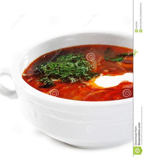 cuisine russe cuisine russe et ukrainienne potage solyanka photos stock image 6443183