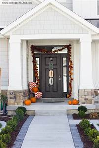 Farmhouse Halloween Front Porch Decor Honeybear Lane