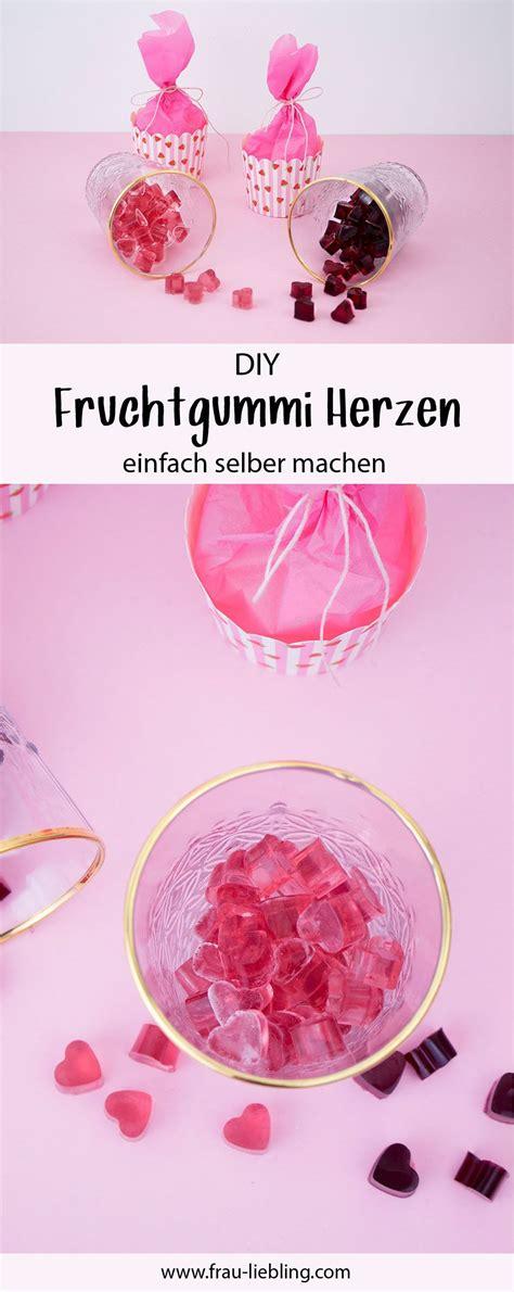 fruchtgummi selber machen fruchtgummi selber machen einfaches rezept geschenkverpackung frau liebling diy deko und