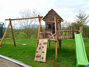 Fabriquer Un Toboggan : fabriquer aire de jeux en bois ja84 jornalagora ~ Mglfilm.com Idées de Décoration