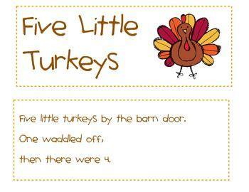 5 little turkeys math madness thanksgiving worksheets