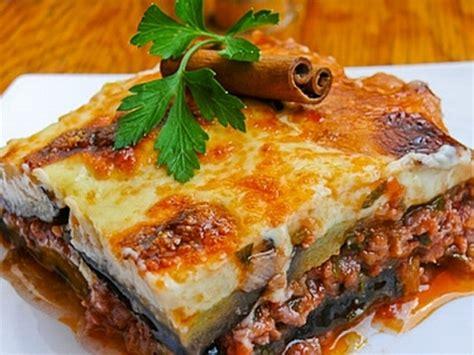 recettes cuisine grecque style moussaka