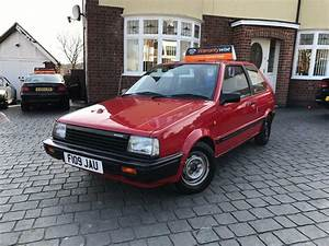 Nissan Micra K10 Red 1989 1 0 Gsx  2 Owners  Sh  Low Miles