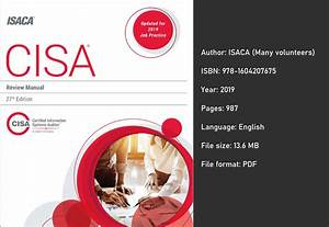 Download  Cisa Review Manual 27th Edition