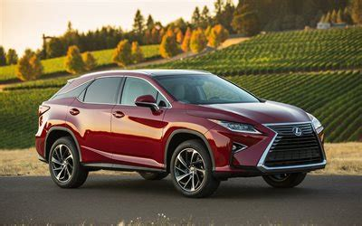 lexus rx red 2017 download wallpapers lexus rx 2017 crossover red rx 350