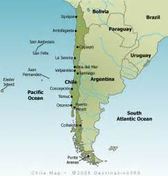 map of chile Chile