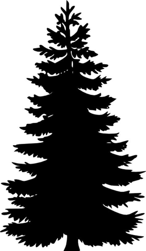 Tannenbaum Christmas Tree Farm Oregon by Tree Silhouettes Clip Art At Clker Com Vector Clip Art