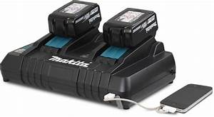 Makita DC18RD 7 2-18v Li-Ion Dual Port Twin Rapid Optimum