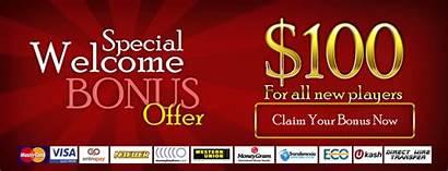 Casino Deposit Bonus Welcome Required Cash Slot