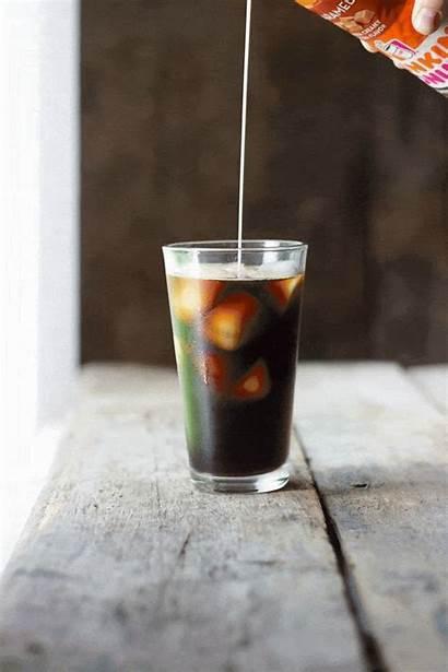 Americano Iced Dulce Leche Drink Pretty Close