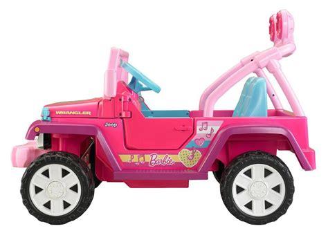 power wheels jeep barbie amazon com power wheels barbie jammin jeep wrangler